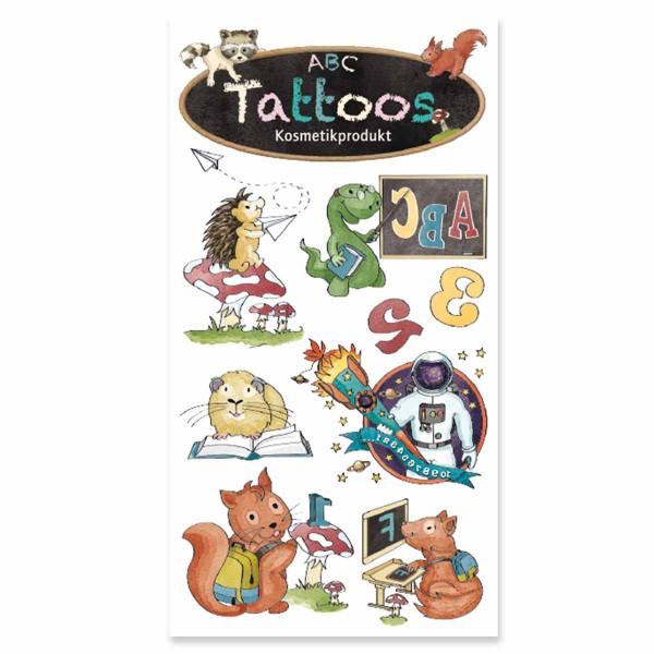 Tattoo ABC Jungen