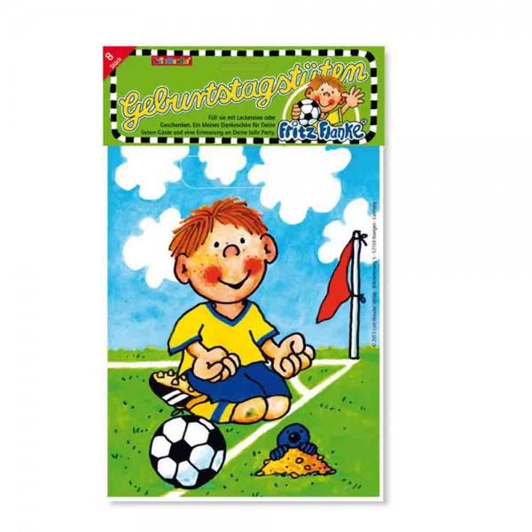 Geburtstagstüten Fußballer Fritz Flanke