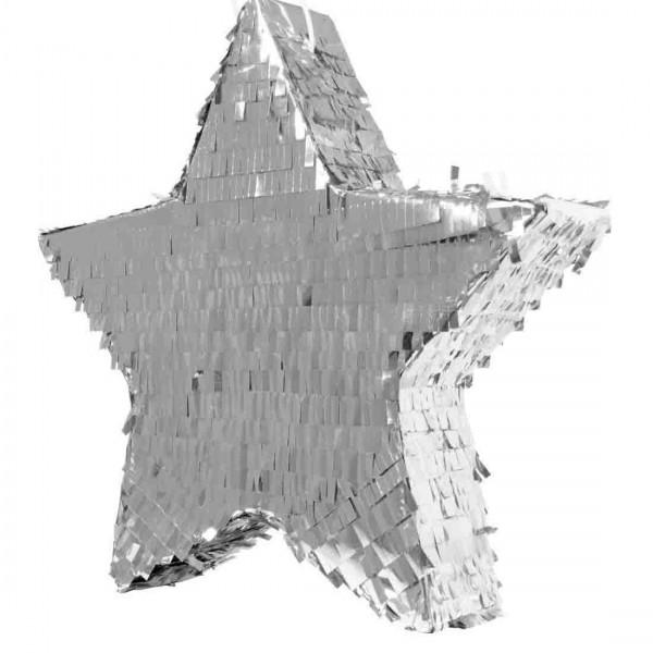 Pinata Stern in Silber