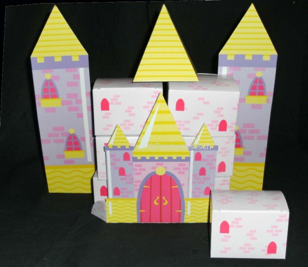 Tischdekoration Schloss