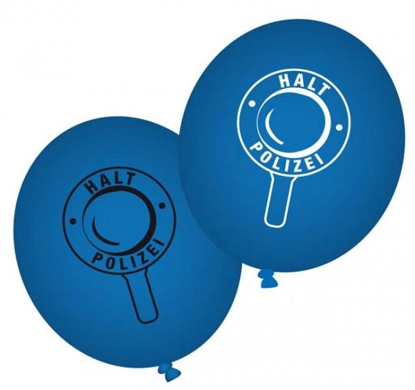 Polizei-Ballons 8St.