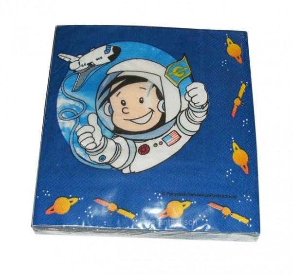 Servietten Astronaut Flo