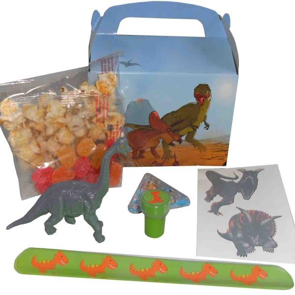 Tragebox mit jeder Menge Dino Überraschungen für Jungen