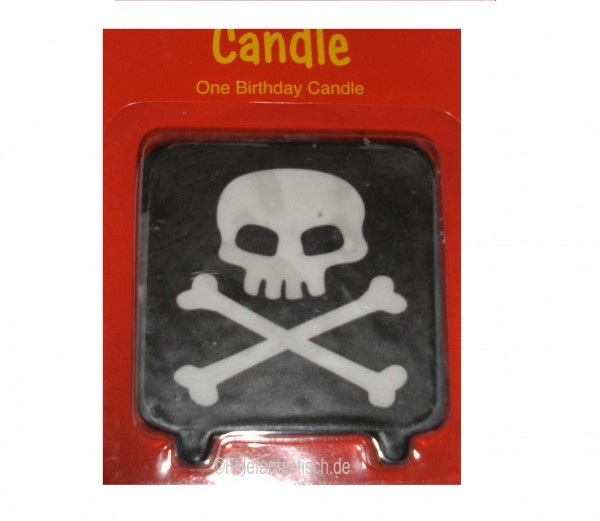 Kerze für die Piratenparty