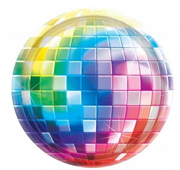 Disco-Teller groß