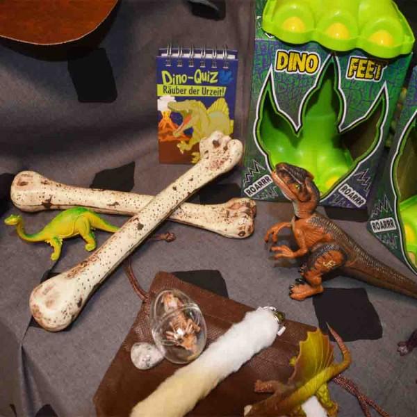Dinosaurier-Verleihkiste