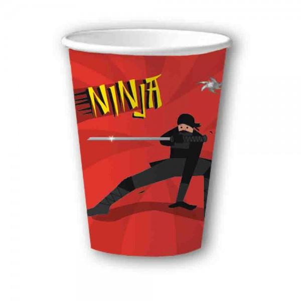 Ninja Kämpfer Becher