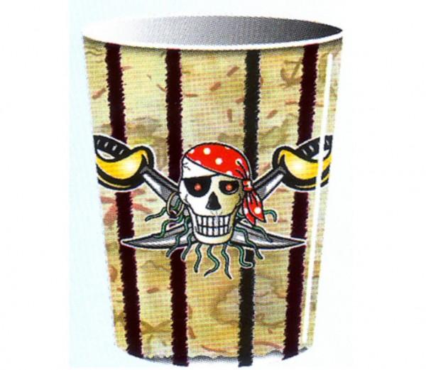 Becher Roter Pirat