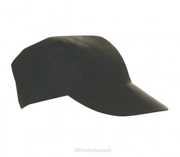 Schirmmütze in schwarz