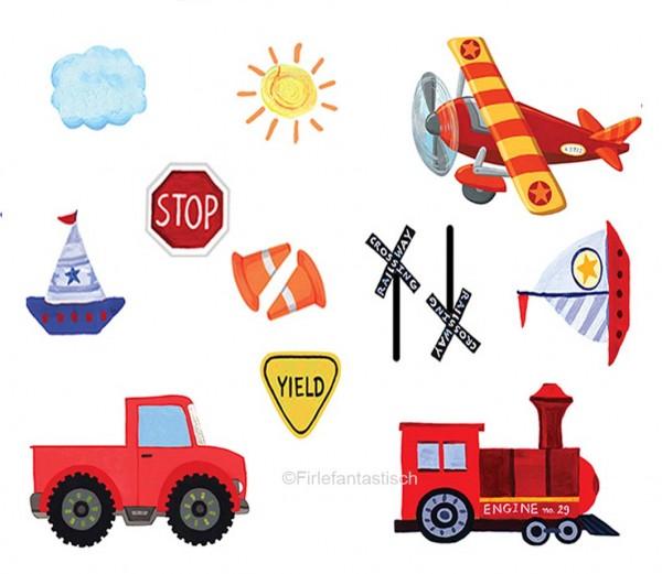 Tischkonfetti Fahrzeuge