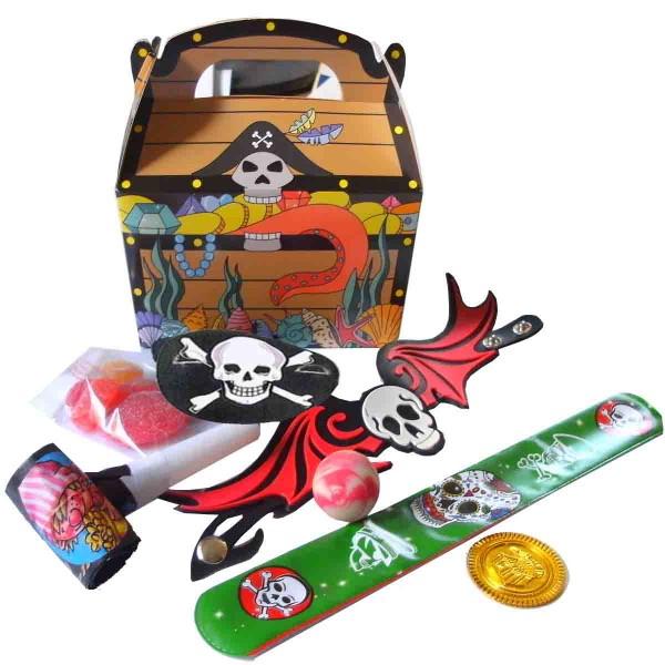 Spannende Piraten Wundertüte mit viel Inhalt