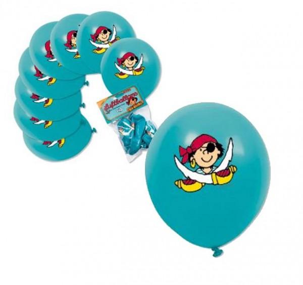Piraten-Luftballons Pit Planke
