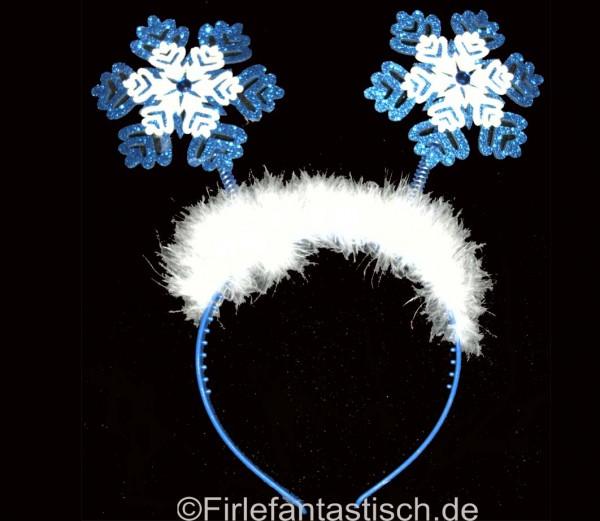 Haarreif-Schneeflocke