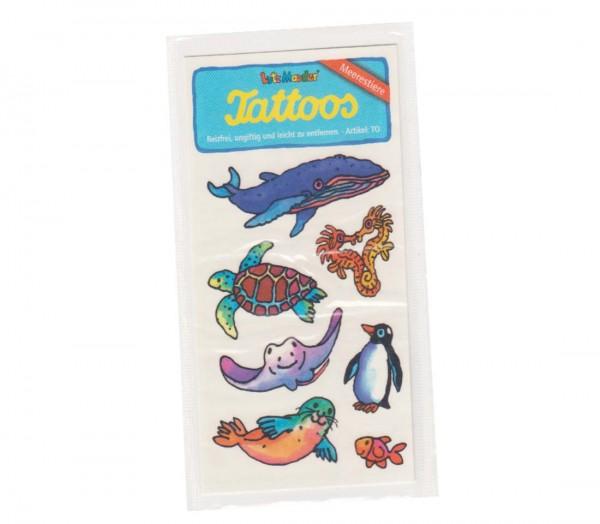 Tattoo Meerestiere