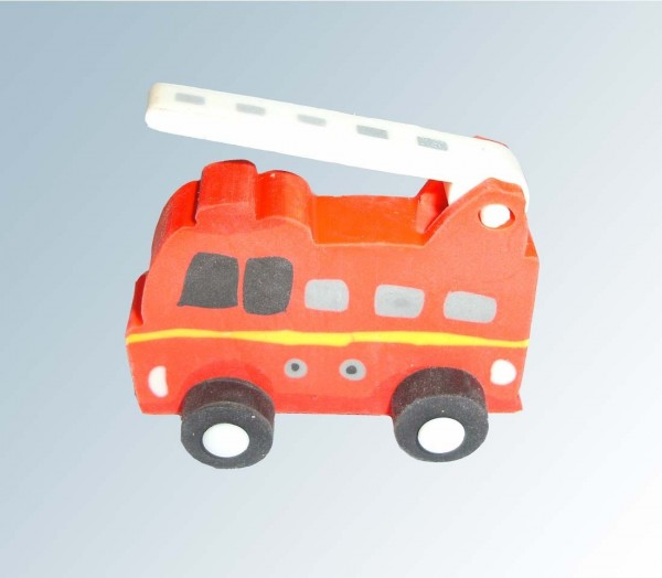 Feuerwehr Radiergummi in 3D