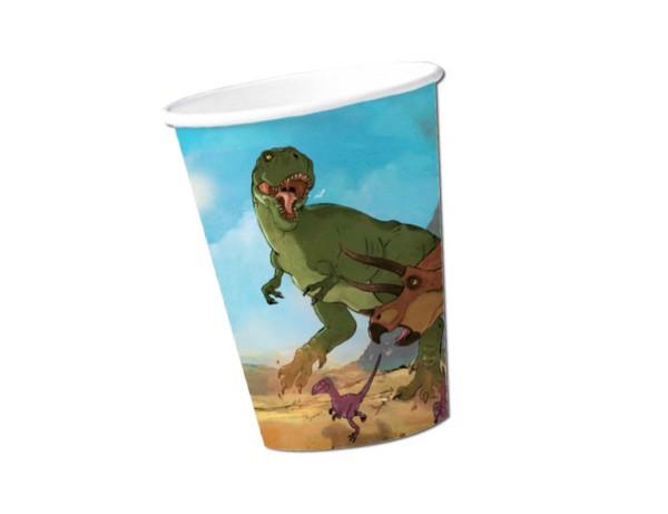 Dino-Kampf Becher