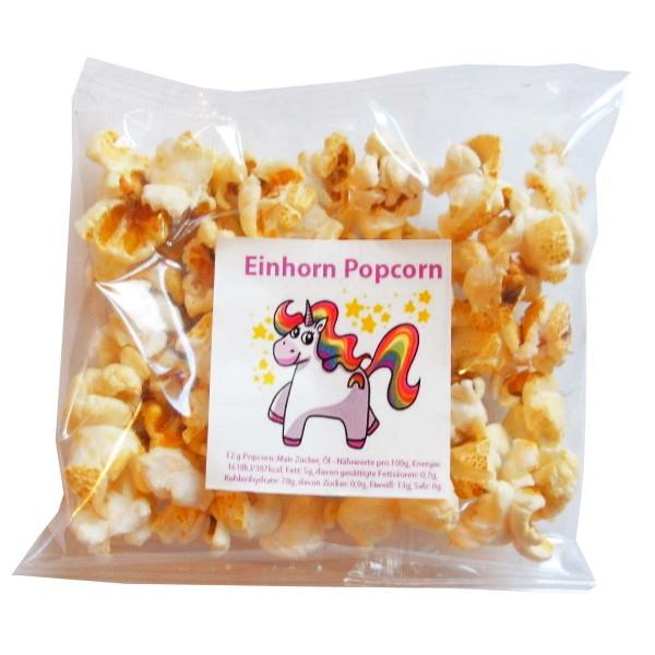 Leckeres Einhorn Popcorn