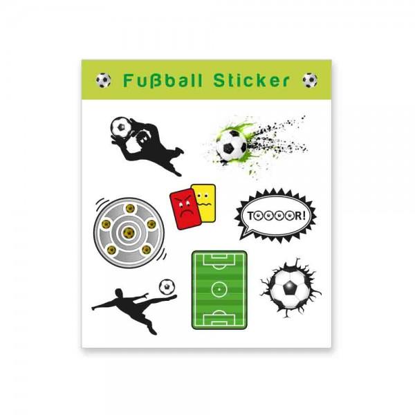 Fußballsticker für den Kindergeburtstag Fußball