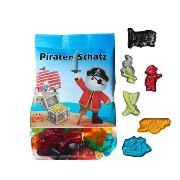Leckere Weingummis für den Piratengeburtstag