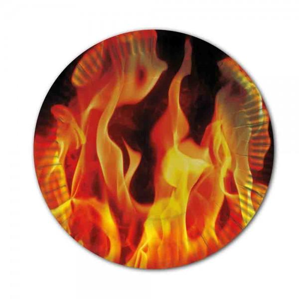 Flammen-Teller
