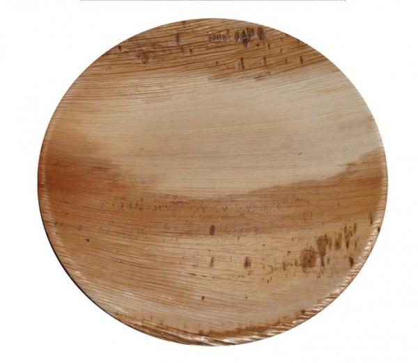 Palmblatt-Teller rund