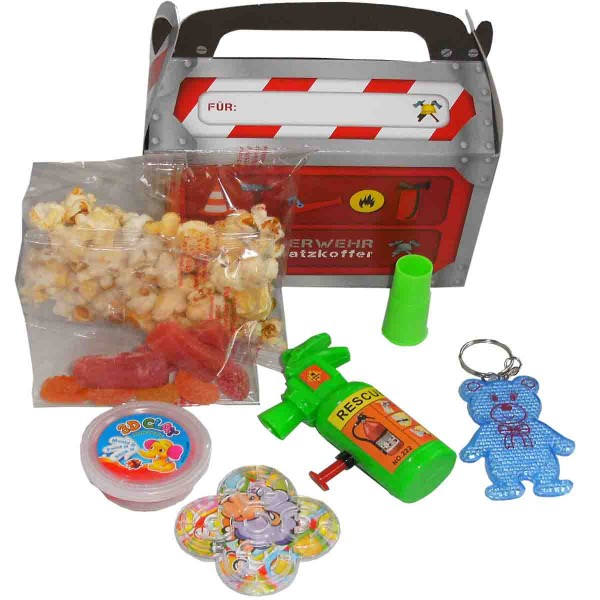 Tragebox mit jeder Menge Überraschungen für Jungen