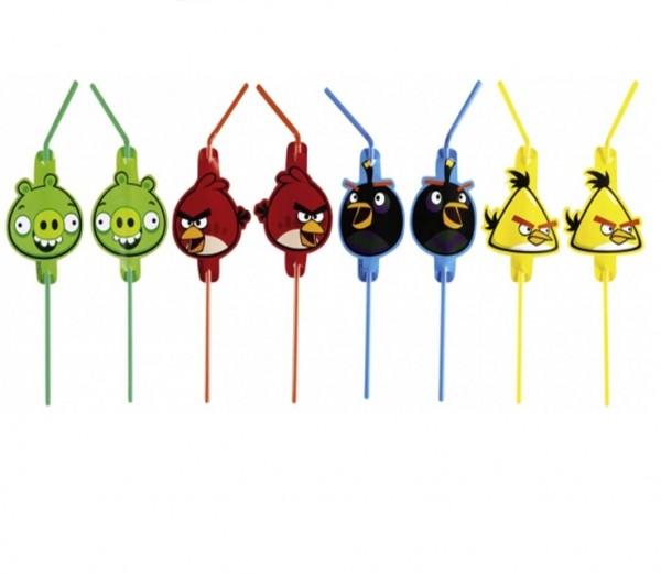 Angry Birds Trinkhalme