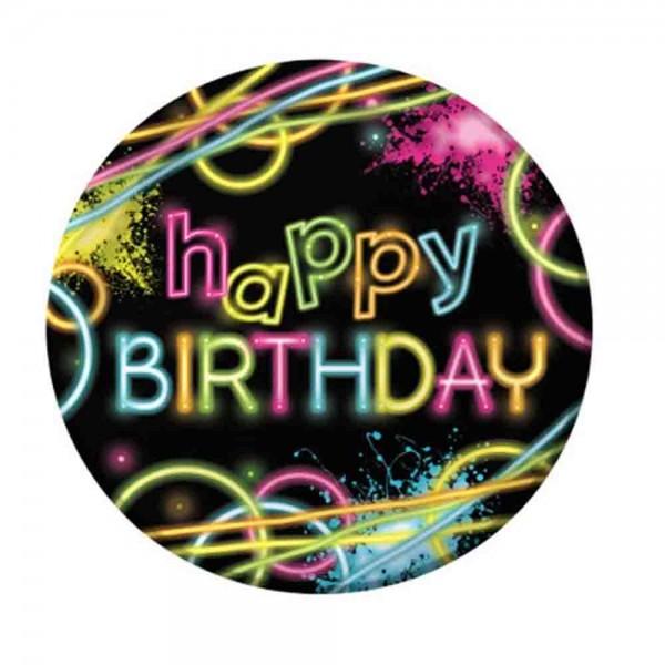 Teller Happy Birthday Neon