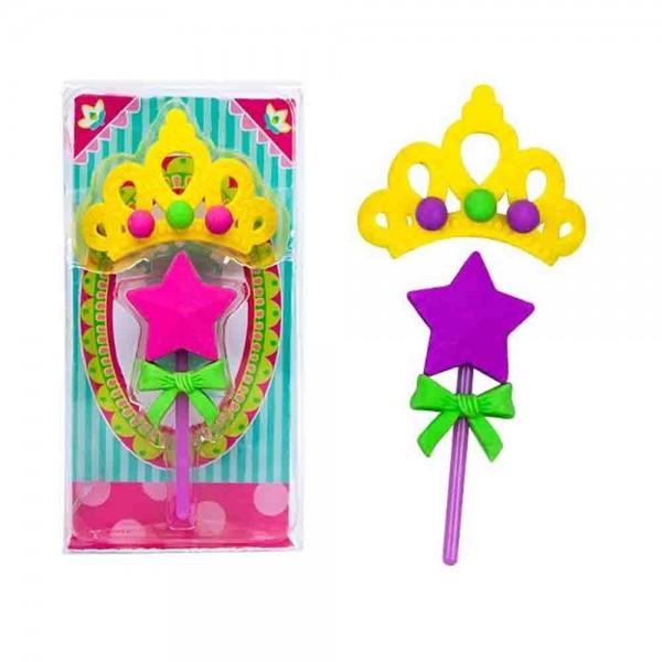 Radiergummi für den Prinzessingeburtstag