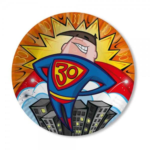 Teller Supermann 30