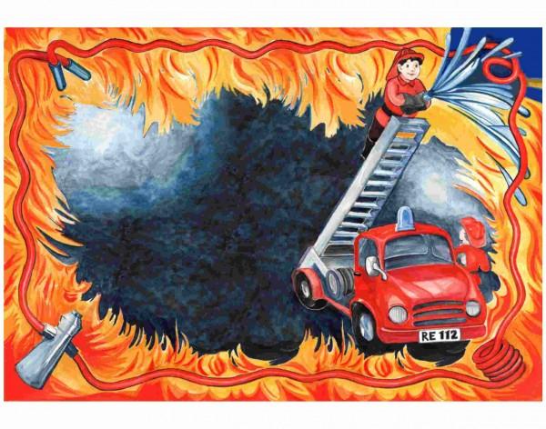 Feuerwehr Platzsets 6St.