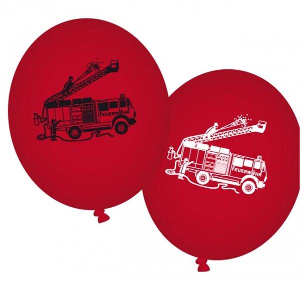 Isis Feuerwehr-Ballons 8St.