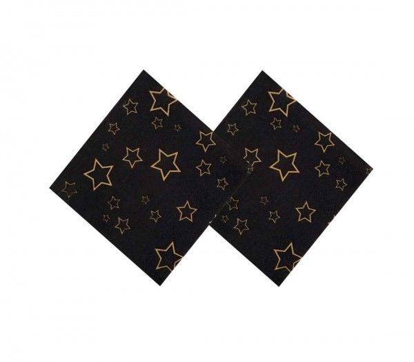 Servietten magische Sterne