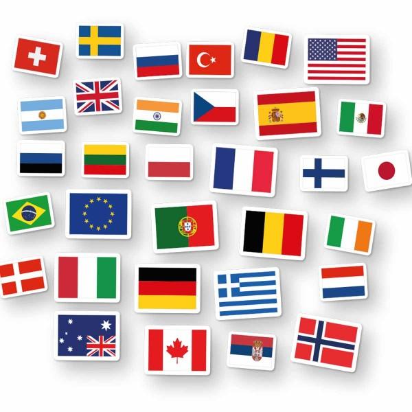 Länderflaggen Konfetti XXL
