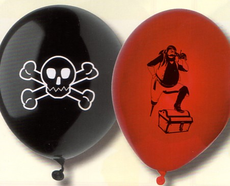 Piraten-Luftballons