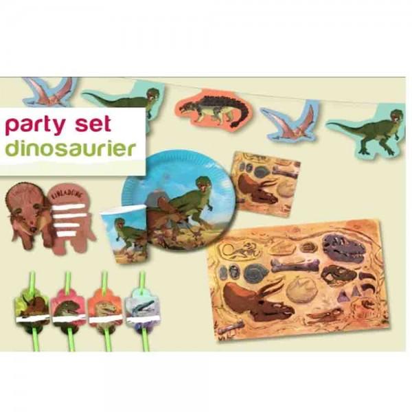 Partybox Dino-Kampf für 8 Kinder