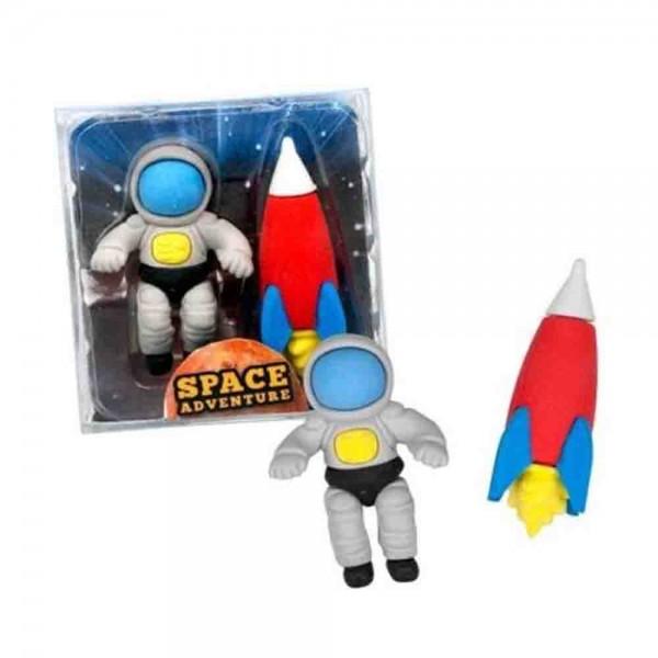 Radiergummi zum Thema Weltraumgeburtstag