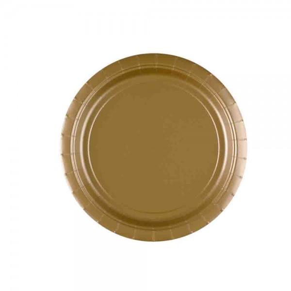 Gold-Teller
