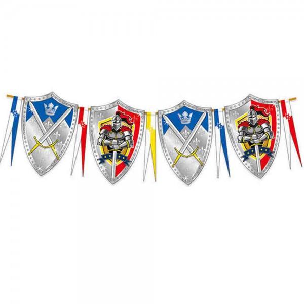 Ritterschild Wimpelkette