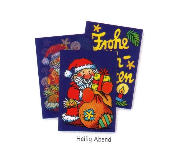 Wackelbild-Postkarte Weihnachtsbaum