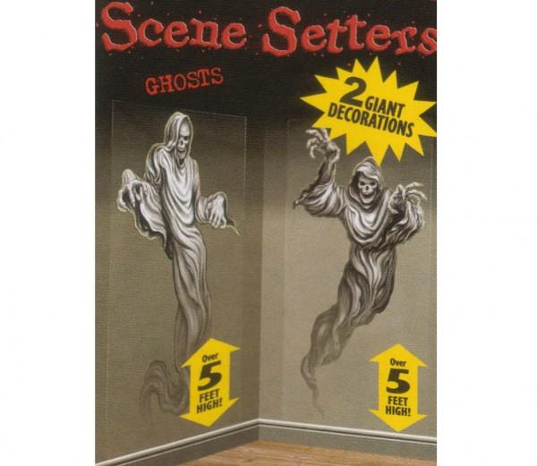 Gruselige Bilder für Wand und Tür - Halloween Dekoration