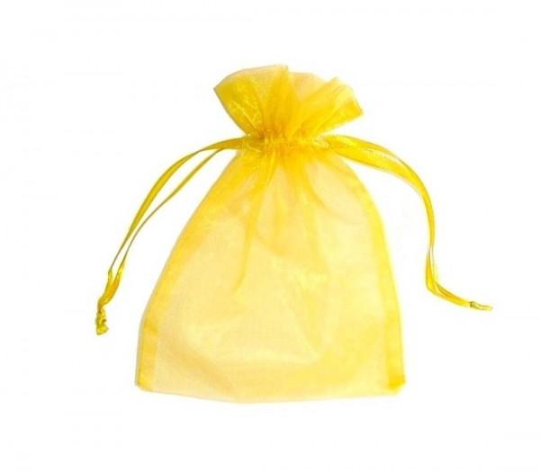Organza-Säckchen gelb