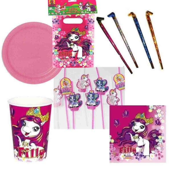 Filly-Partyset 60tlg.