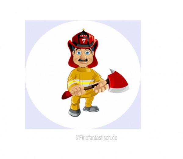 Muffinaufleger Feuerwehrmann