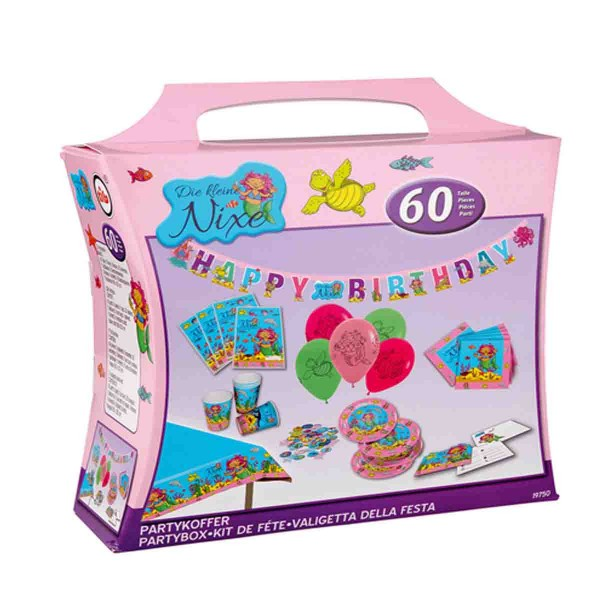 Partykoffer Nixe - für den Kindergeburtstag Nixe