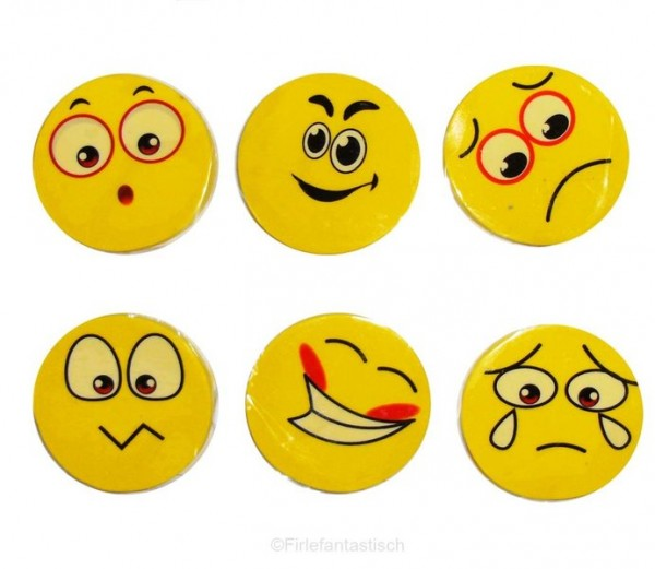 Smile-Radierer 100 Stück