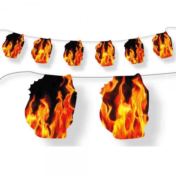Heiße Girlande für die Feuerwehrparty oder Grillparty