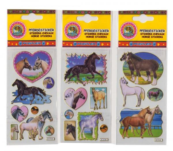 Pferde-Lasersticker 1 Bogen
