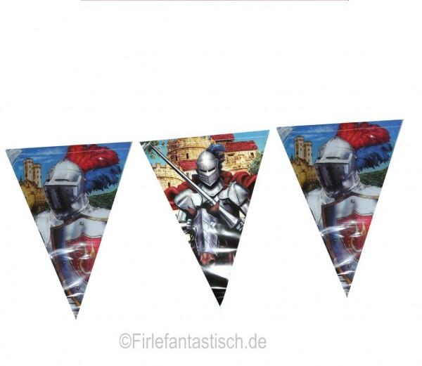 Tapferer Ritter-Wimpelkette