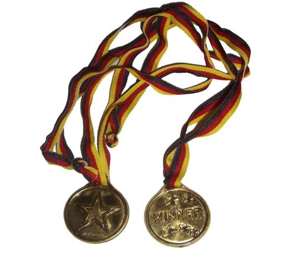 Gold-Medaille 1 Stück